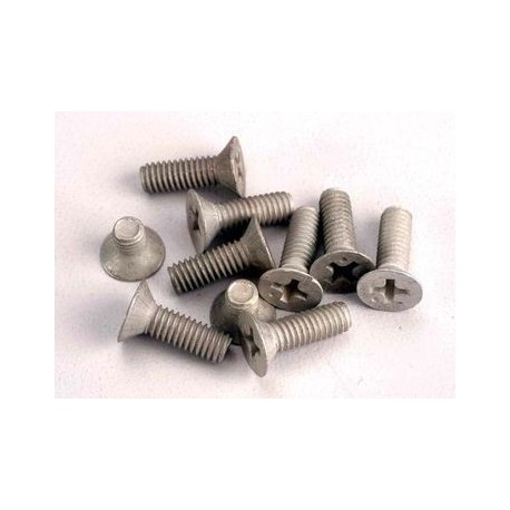 Traxxas 1945 Countersunk alu. screws M4x10
