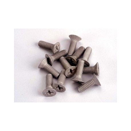 Traxxas 1948 Screws,aluminium 4x12mm