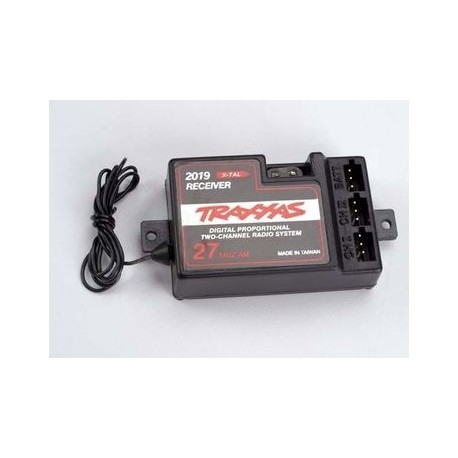 Traxxas 2019 Receiver 2-channel 27mHz