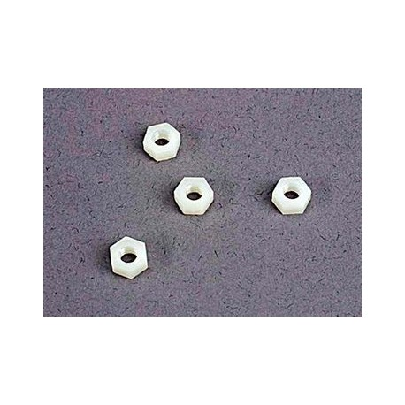 Traxxas 2447 4mm nylon wheel nut 4