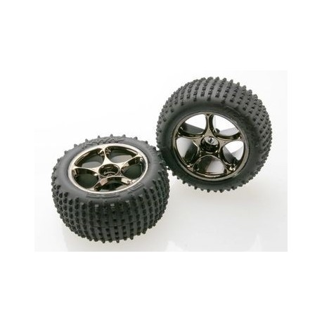 "Traxxas 2470A Tires & Wheels 2,2"" Alias/Tracer Medium Rear (TSM-Rated) (2)"