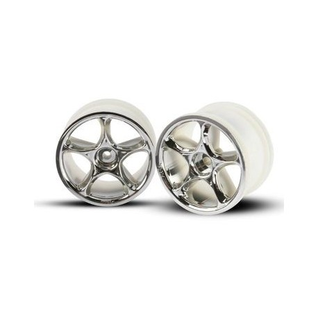 "Traxxas 2472 Wheels Tracer 2,2"" Chrome Rear (2)"
