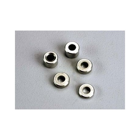 Traxxas 2539 Aluminum spacers: 3x6x1.5mm (2)/ 3x6x2.5mm (1)/ 3x6x3.8mm (2