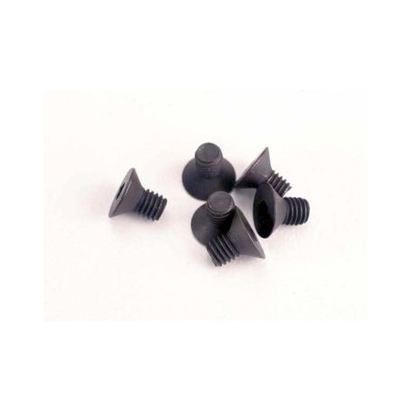 Traxxas 2549 Screws, 3x5mm countersunk machine (6) (hex drive)