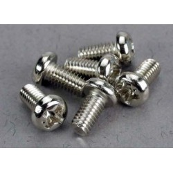 Traxxas 2558 Screws 3x6mm roundhead machine