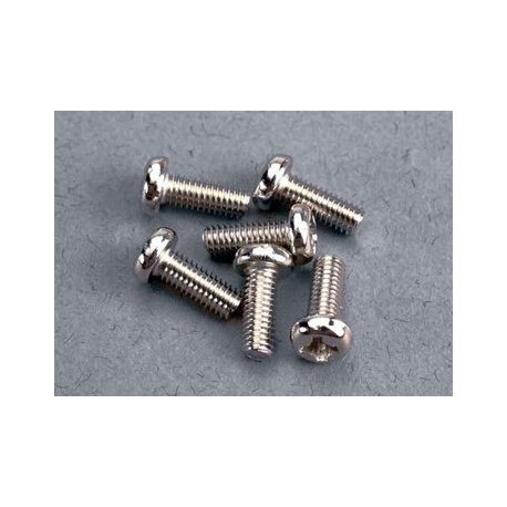 Traxxas 2559 Screws 3x8mm roundhead machine