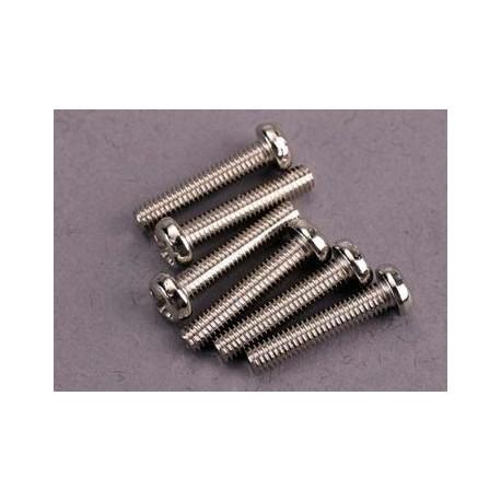 Traxxas 2563 Screws 3x15mm roundhead machin