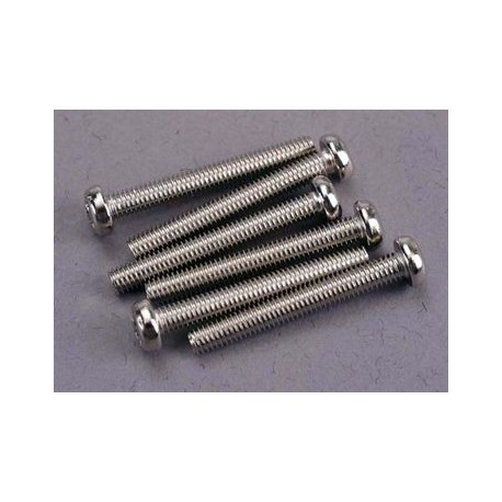 Traxxas 2567 Screws, 3x23mm roundhead machine (6)