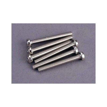 Traxxas 2569 Screws 3x25mm roundhead machin