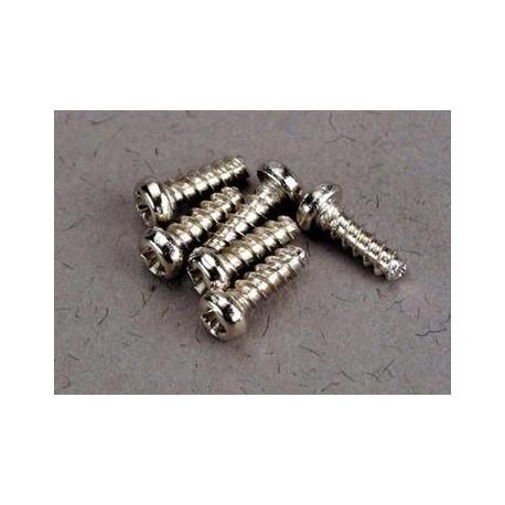 Traxxas 2674 Screw 2x6mm roundhead self-tap