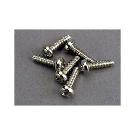 Traxxas 2675 Screws 3x10 self-tapping (6)