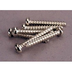 Traxxas 2678 Screws, 3x20mm roundhead self-tapping (6)