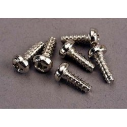 Traxxas 2682 Screw 3x8mm Roundhead self-tap