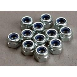 Traxxas 2745 Nuts 3mm nylon locking (12)