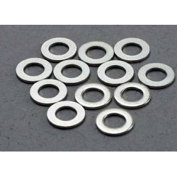 Traxxas 2746 Washers 3x6mm 12pcs Metal