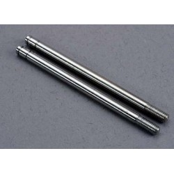 Traxxas 2765 Shock Shafts Chrome Finish X-Long (2)