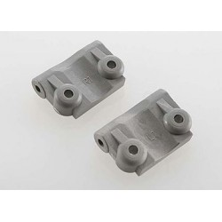 Traxxas 2798A Suspension Arm Mount Grey Rear 1-Degree (Pair)