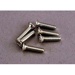 Traxxas 3161 Screws 2x8mm countersunk machi