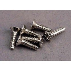 Traxxas 3176 Screws 3x10mm countersunk self