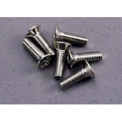 Traxxas 3177 Screws 3x10mm countersunk mach
