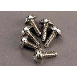 Traxxas 3290 Screws 3x8mm washerhead self-t