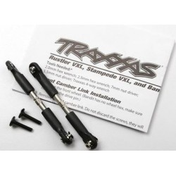 Traxxas 3644 Turnbuckle Complete Steel Camber Link 69mm (2)