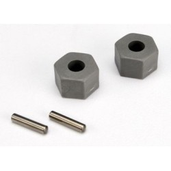 Traxxas 3654 Wheel Hex Hub 12mm (tall offset) (2)