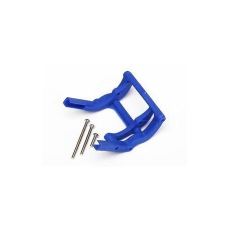 Traxxas 3677X Wheelie Bar Mount Blue