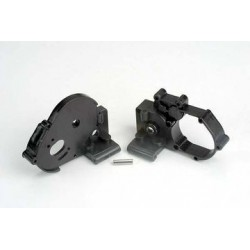 Traxxas 3691 Gearbox Halves Black