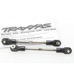 Traxxas 3745 Turnbuckle Toe Link Complete 78mm Steel (2)