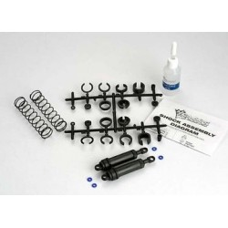 Traxxas 3762 Ultra Shocks Complete XX-Long Black (2)