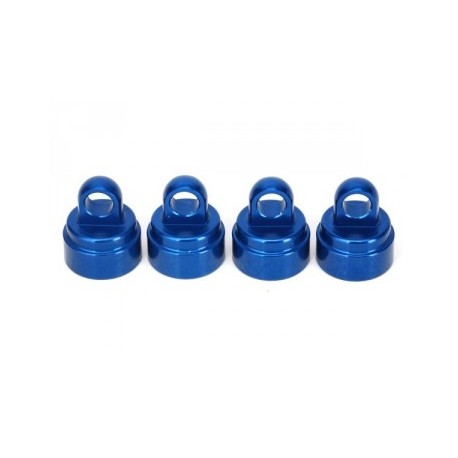 Traxxas 3767A Shock Caps Blue Aluminium (4) Ultra-Shocks