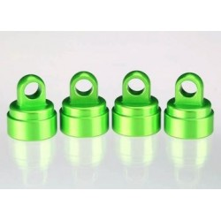 Traxxas 3767G Shock Caps Green Aluminium (4) Ultra-Shocks