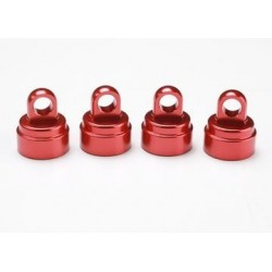 Traxxas 3767X Dämpartopp Red Aluminium (4) Ultra-Shocks