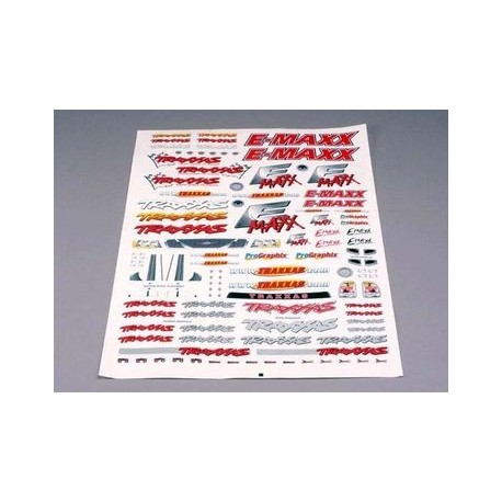 Traxxas 3913 Decal Sheet E-Maxx