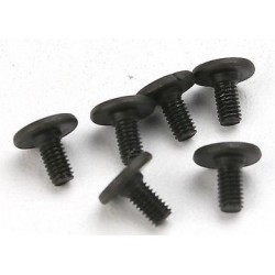 Traxxas 3932 Screws, 3x6mm flat-head machin
