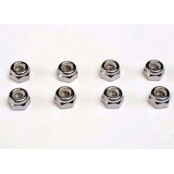 Traxxas 4147 Nut M5 nylon locking(8)