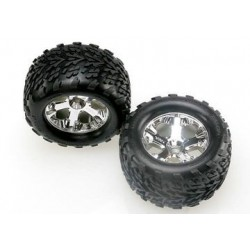 "Traxxas 4171 Tires & Wheels Talon/ All-Star (Nitro Front) 2,8"" (2)"