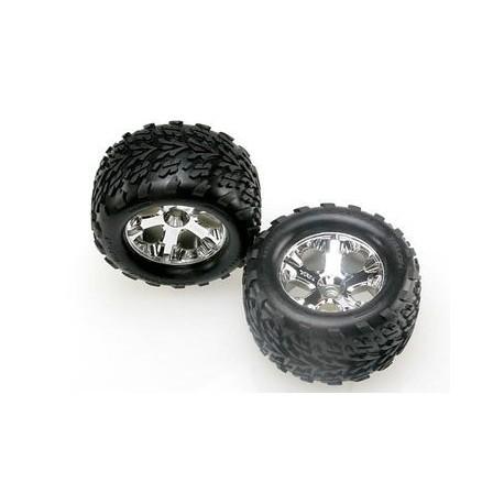 """Traxxas 4171 Tires & Wheels Talon/ All-Star (Nitro Front) 2,8"""" (2)"""