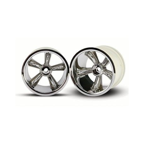 Traxxas 4172 Rear wheel Nitro Rustle 2