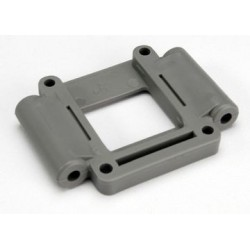 Traxxas 4330A Suspension mount, lower 3 grey