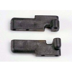 Traxxas 4918 Steering Servo Mounts Black (Pair)