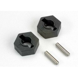 Traxxas 4954 Hex Wheel Hubs 14mm Nylon (2)