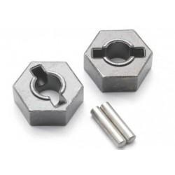 Traxxas 4954R Hex Wheel Hubs 14mm Steel (2)