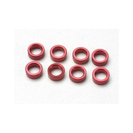 Traxxas 5133 Spacers Aluminium Red