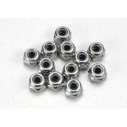 Traxxas 5158 Nuts 2.5mm nylonlock(12