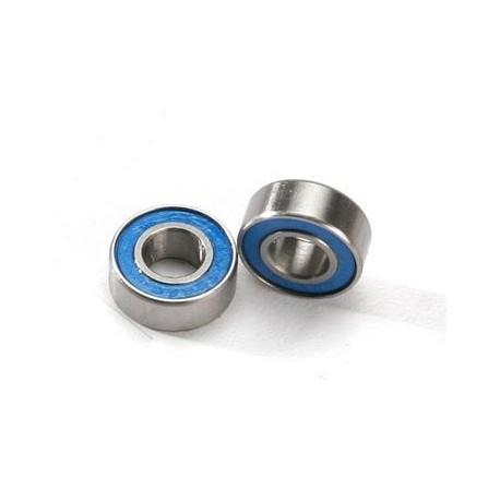 Traxxas 5180 Ball Bearing 6x13x5 Blue Rubber Seal (2)