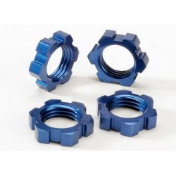 Traxxas 5353 Wheel Nuts 17mm Blue (4)