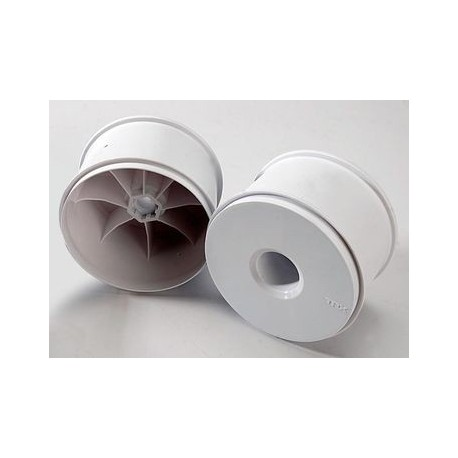 "Traxxas 5371 Wheels Dish White (17mm) 3,8"" (2)"