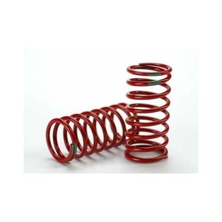 Traxxas 5438 Shock Springs GTR Red (3.5 Rate Green) (2)